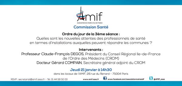 Commission Santé - Séance 3 - Jeudi 21 janvier 14h30