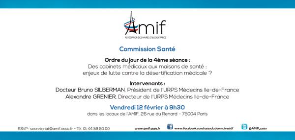 Commission Santé - Séance 4 - Vendredi 12 Février 9h30
