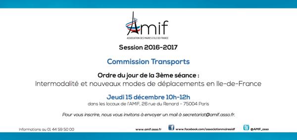 Commission Transports - Séance 2 - Jeudi 15 décembre 10h