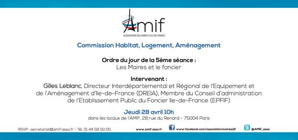 Commission Habitat - Séance 5 - Jeudi 28 avril 10h