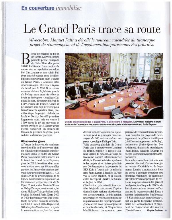 Le Grand Paris trace sa route