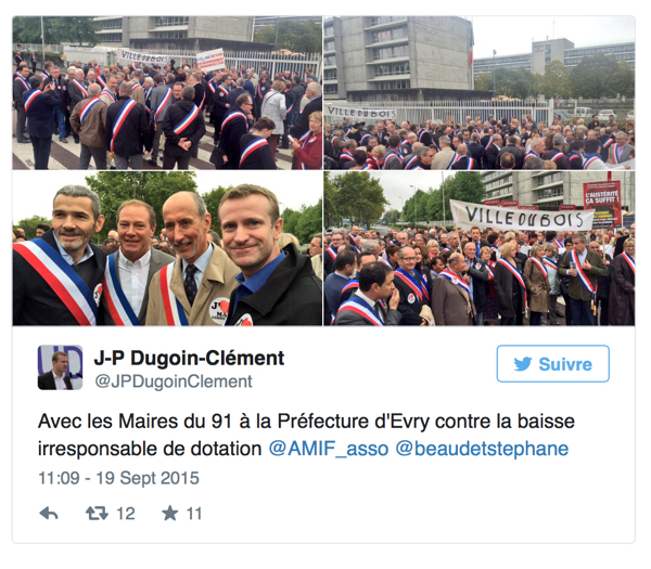 La fronde des maires de l'Essonne contre la baisse des dotations