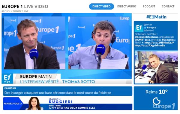 Stéphane Beaudet, Maire de Courcouronnes et Président de l'AMIF, se confie au micro de Thomas Sotto